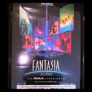 Original Fantasia 2000 Movie Poster